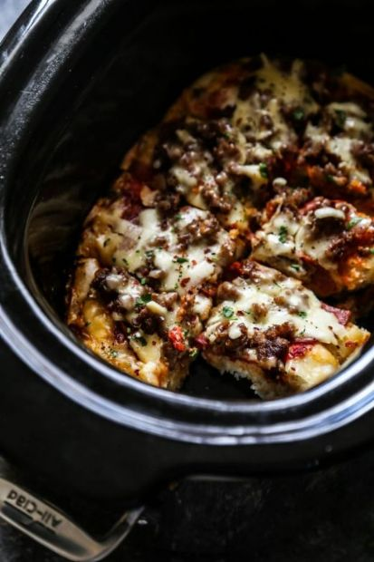 Slow-Cooker Pizza