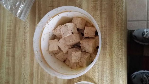 Southwestern Marinated Firm Tofu