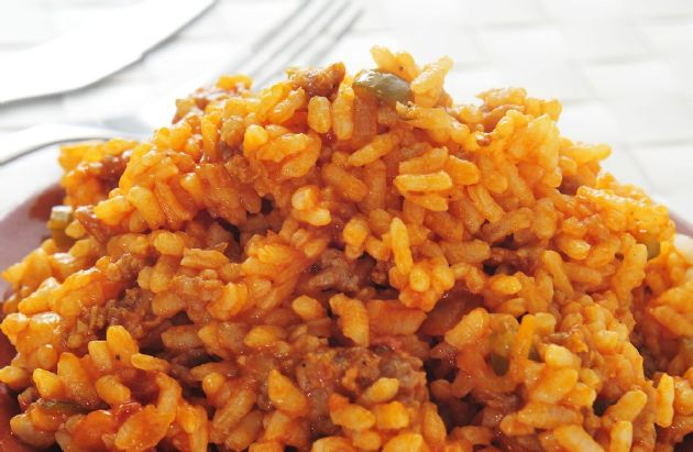 Spanish Rice & Beef