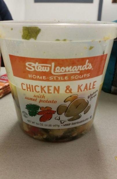 Stew Leonards Chicken & Kale Soup