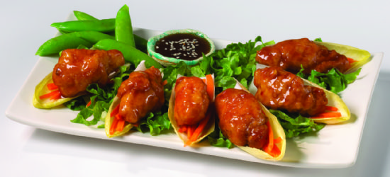 Sweet Chili Chicken Appetizer Platter