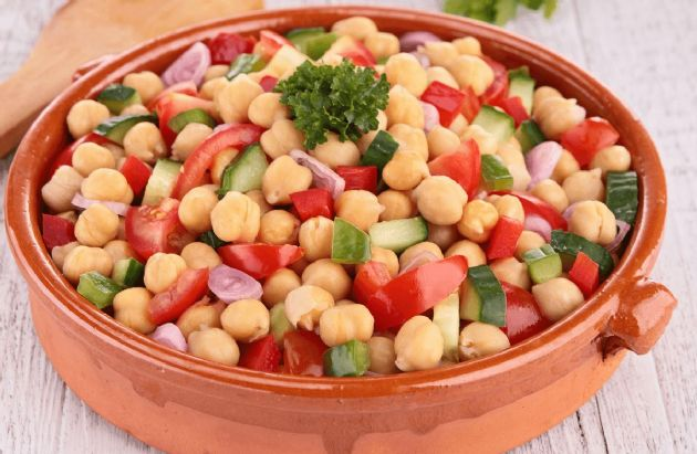The Best Ever Chickpea Salad