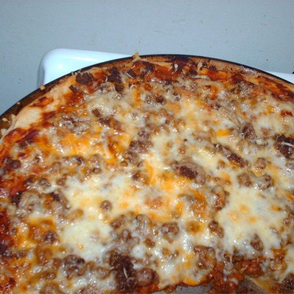 400 Calorie Dinner - Taco Pizza