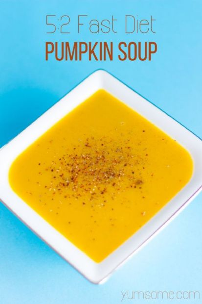 TheGoktor's 5:2 Diet Easy Peasy 82-Calorie Pumpkin Soup (Vegan)