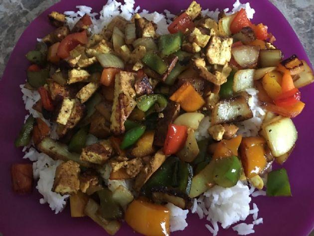 Vegan Tofu Stir Fry