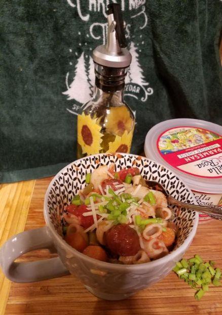 Tomato Brat casserole-low fodmap