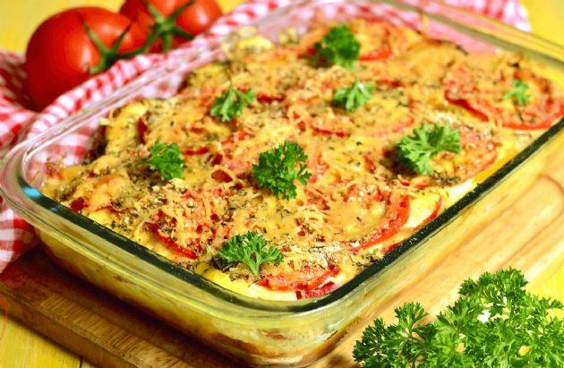 Tomato Vegetable Casserole