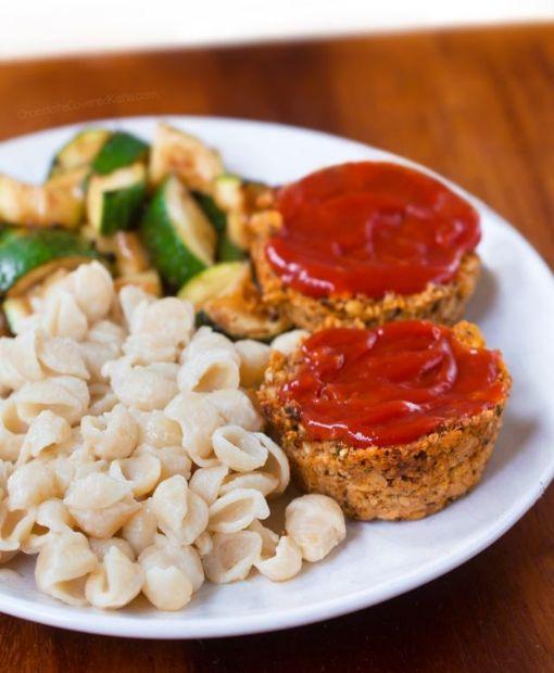Turkey Mushroom Meatloaf Muffins