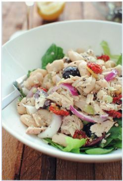 Tuscan Tuna and White Bean Salad Version 3.0