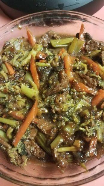 Whole30 Instant Pot Sesame Beef & Vegetable