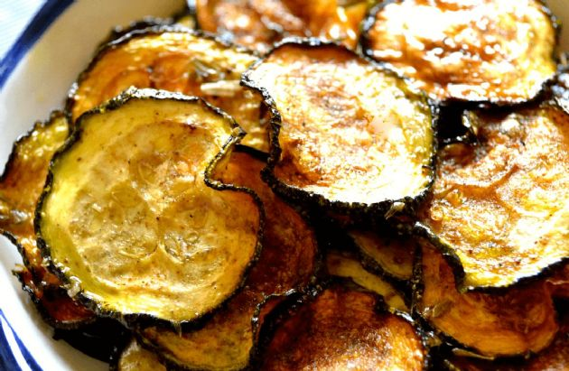 Image result for zucchini chips