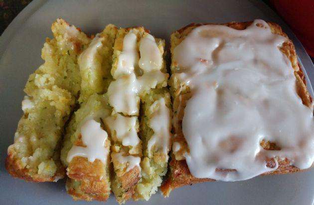 Zucchini Lemon Pound Cake