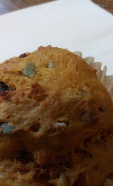 Pumpkin Seed Protein Muffins