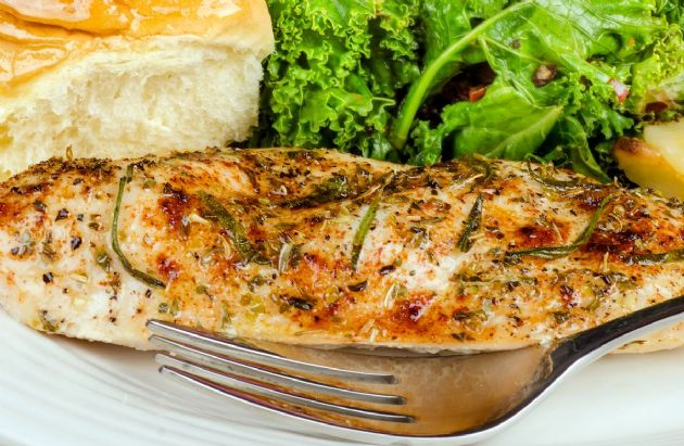 Angie's Parmesan-Crusted Chicken Breast