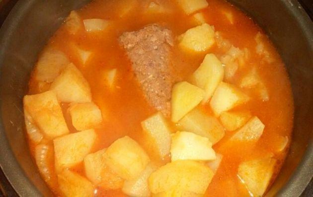 Corned Beef and Potato Stew