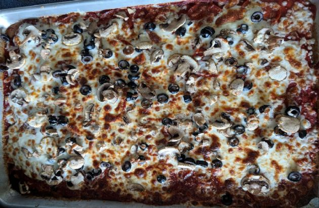 Low Carb Chicken Alfredo Pizza Casserole - Gluten Free