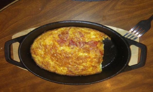 Keto friendly breakfast bake