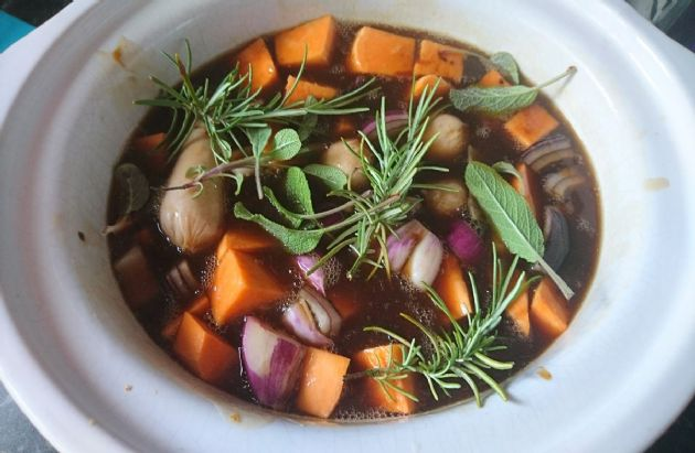 Irish Sausage Stew [Slow Cooker]