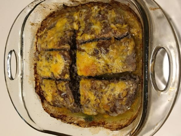 double cheese meatloaf low carb keto friendly