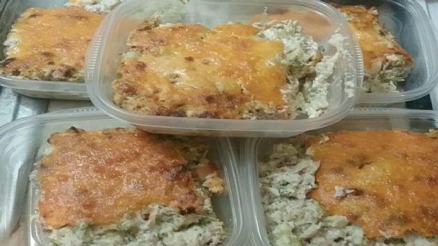 Keto Chicken and Broccoli Casserole