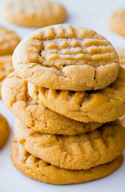 Gluten free Cashew butter cookies (only 4 ingredients)