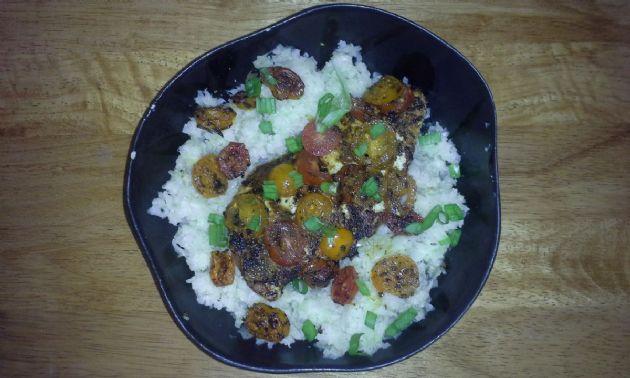 hcg chicken and cauliflower mash