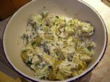 Potato Salad with Green Onions