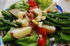 Salad Nicoise with Crispy Capers