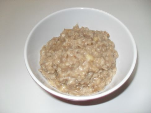 Carrie's Banana Walnut Oatmeal