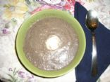 Rich and tangy mushroom soup