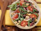Two Bean Salad with Tarragon Dressing