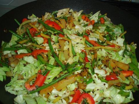 Curried Mixed vegitable