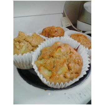 Healthy Apple and honey Muffins