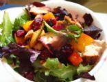 HUGE Grilled Chicken & Fruit Salad
