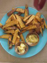 Curried Sweet Potato Fries