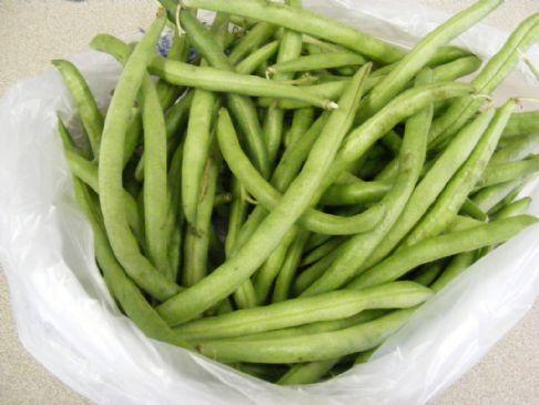 Roasted Green Bean Medley