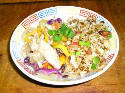 Asian Pork with Fried Rice