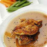 Chicken in marsala wine sauce
