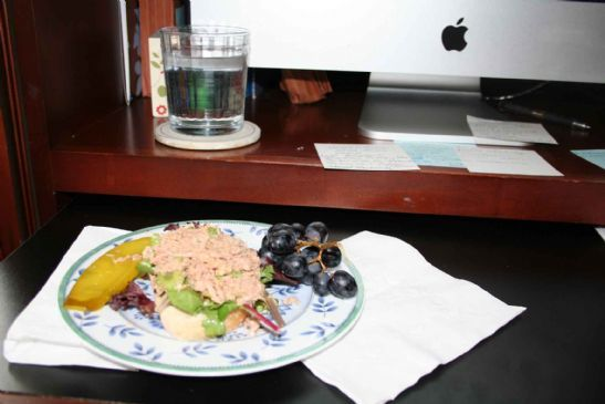 Tuna Salad with Balsamic Vinegar