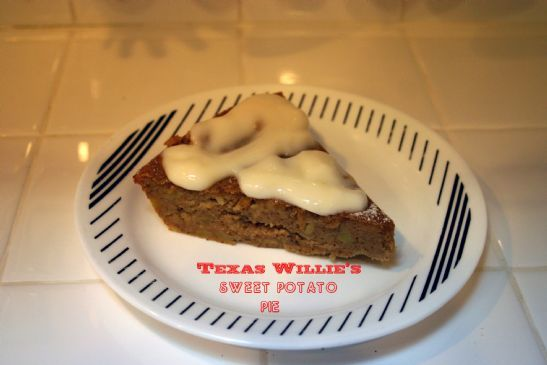 Texas Willie's Sweet Potato Pie