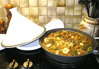 Easy Kangaroo Tagine
