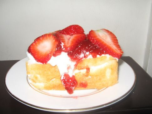 Strawberry Shortcake with 0 Fat
