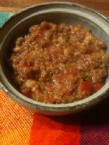 Quinoa Lentil Bean Chili