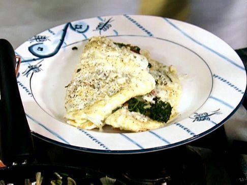 Kelly's Egg White (Fresh) Spinach Omelet