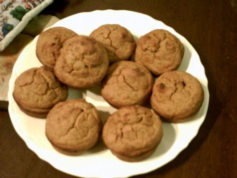 Sweet Potato muffins!