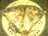 Vegetarian Whole Wheat Honey Crust Pizza