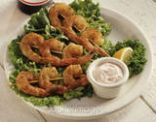 Grilled Shrimp Remoulade (for one)