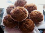 Vegan Banana Raspberry Oatmeal Muffins