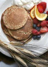 Whole Wheat Kernal Blender Pancakes