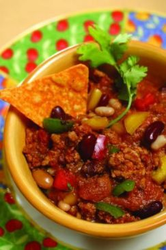 Heidi's Homemade Chili